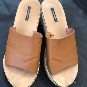 Forever 21 platform sandal